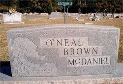 Lillie Mae <i>O'Neal</i> Brown