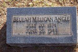 Beulah Lee <i>Millican</i> Angle