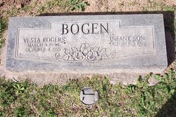 Vesta <i>Rogers</i> Bogen