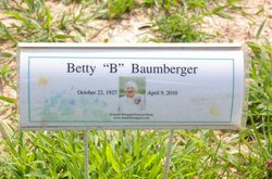 Betty Jane B <i>Alexander</i> Baumberger