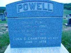 Anna M <i>Burlington</i> Powell