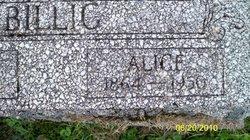 Alice Billig