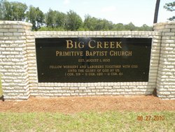 Big Creek Primitive Baptist Church Cemetery