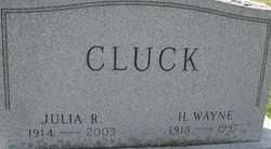 Julia R. <i>Stoops</i> Cluck