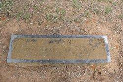 Mary Ophelia Mollie <i>Williams</i> Allen