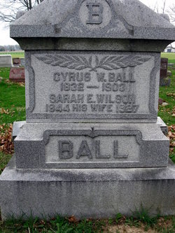 Sarah Eilzabeth <i>Wilson</i> Ball