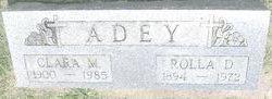 Clara M. <i>Edgar</i> Adey