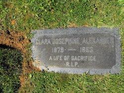 Clara Josephine <i>Harris</i> Alexander
