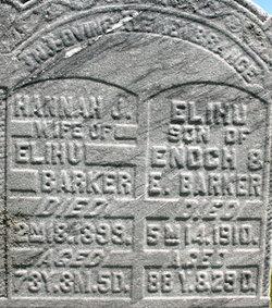 Hannah J <i>Allen</i> Barker