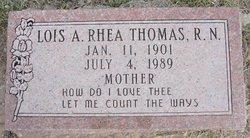 Lois Auzella <i>Rhea</i> Thomas