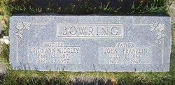Edith Ann <i>Midgley</i> Bowring