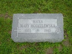 Mary <i>Dudzicz</i> Modzelewski
