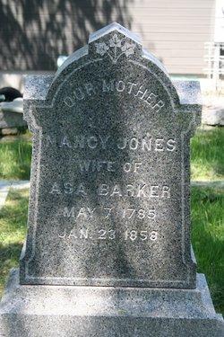 Nancy <i>Jones</i> Barker