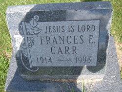 Frances E Carr