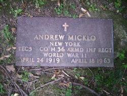 Andrew Micklo