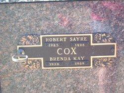 Dr Robert Sayre Cox, Jr
