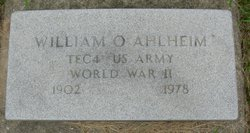 William O. Ahlheim