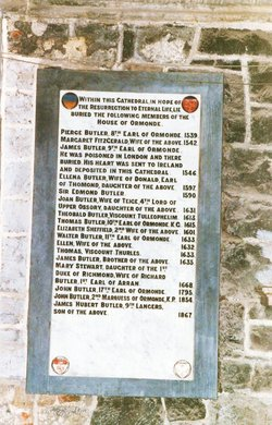 Thomas Butler Black Tom 10th Earl of Ormonde. K.G.