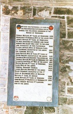 Walter Butler 11th Earl of Ormonde