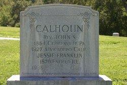 Jessie <i>Franklin</i> Calhoun