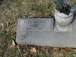 Elsie <i>Herzog</i> Avery