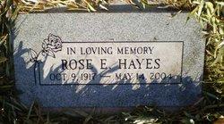 Rose E. Hayes