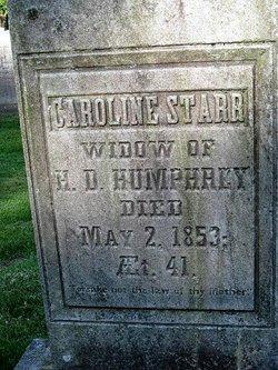 Caroline Maria <i>Starr</i> Humphrey