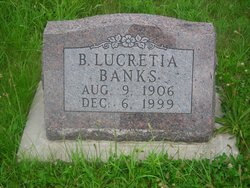 B Lucrettia Banks