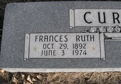 Frances Ruth <i>Harris</i> Curry