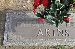 Frances Bunny <i>Parks</i> Akins