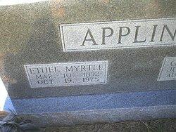 Ethel Myrtle <i>McKay</i> Appling