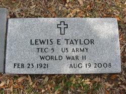 Lewis E. Taylor