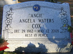 Angela Angie <i>Waters</i> Cox