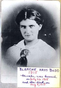 Blanche <i>Hays</i> Budd