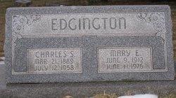 Mary <i>Lyons</i> Edgington