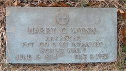 Pvt Harry Clifford Wynn, Sr