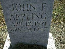 John F Appling