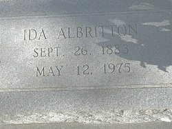 Ida <i>Ferguson</i> Albritton