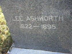 Pvt Elias Leander Lee Ashworth