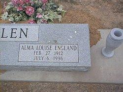 Alma Louise <i>England</i> Allen