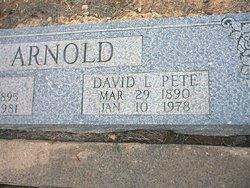 David Lee Pete Arnold