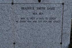 Mrs Beatrice Bea Bea Davis