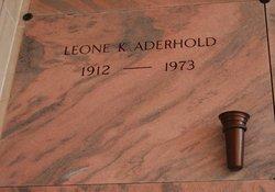 Leone K Aderhold