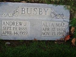 Andrew J AJ Busby