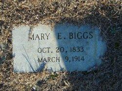 Mary E Biggs