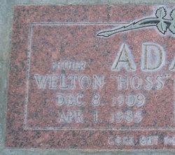 Welton Thomas Adair