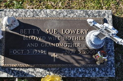 Betty Sue <i>Allen</i> Lowery