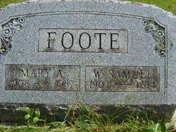Mary A. <i>Wunder</i> Foote