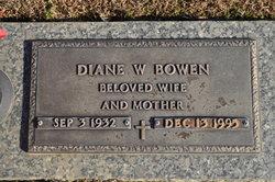 Diane W. Bowen