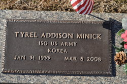 Sgt Tyrel Addison Minick